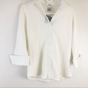 George Stretch which 3/4 sleeve size M